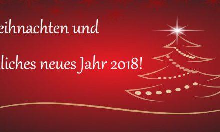 Winterpause, Weihnachten & Neujahr