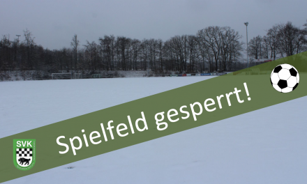 +++ Achtung: Spielabsage! +++