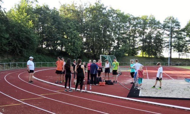 Rege Teilnahme bei den Sportabzeichenprüfungen